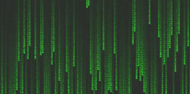 骇客帝国网页背景文字矩阵黑客效果代码